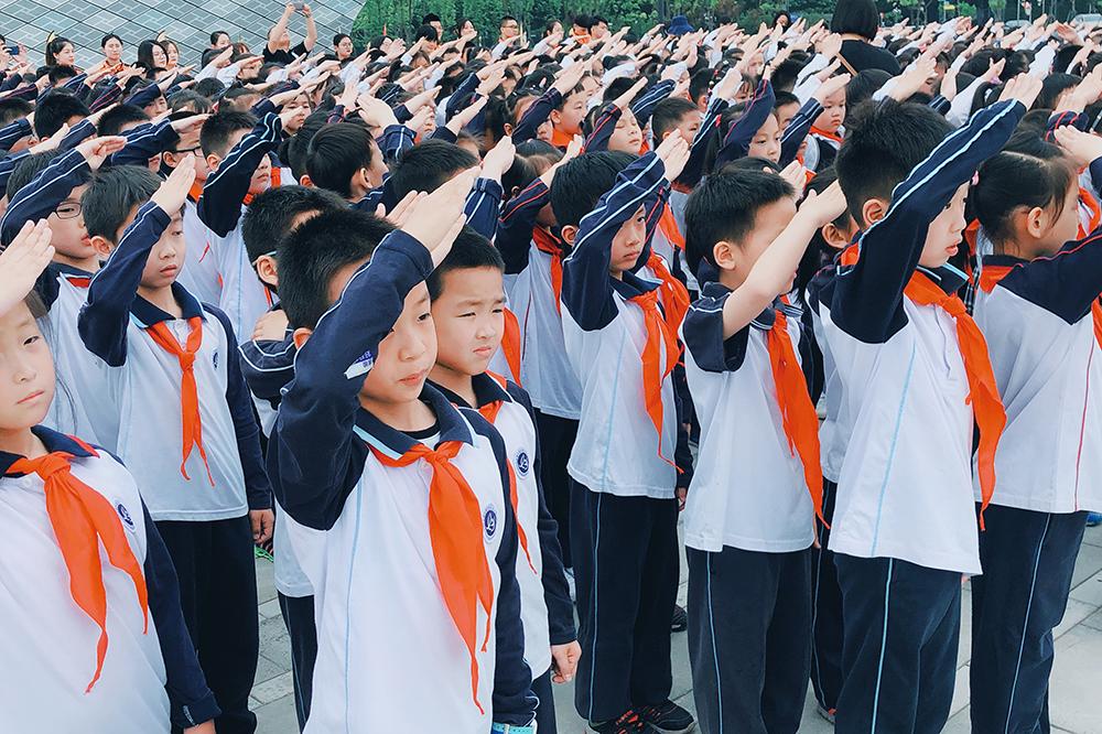 联建小学:领巾少年强 星火耀东方
