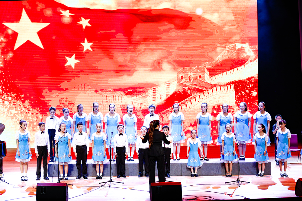 """七彩音符 """"虹""""星逐梦——2019虹口区青少年活动中心第八届社团节音乐会举行"""