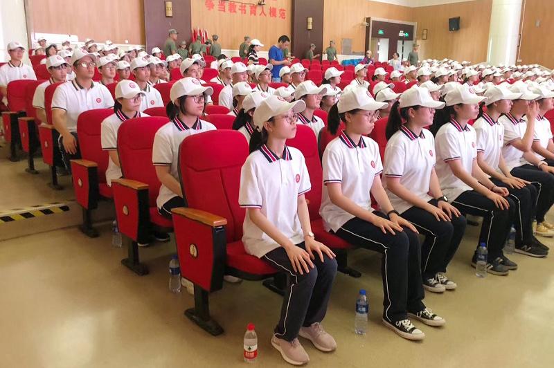 曙光中学进行高一新生日常行为规范教育