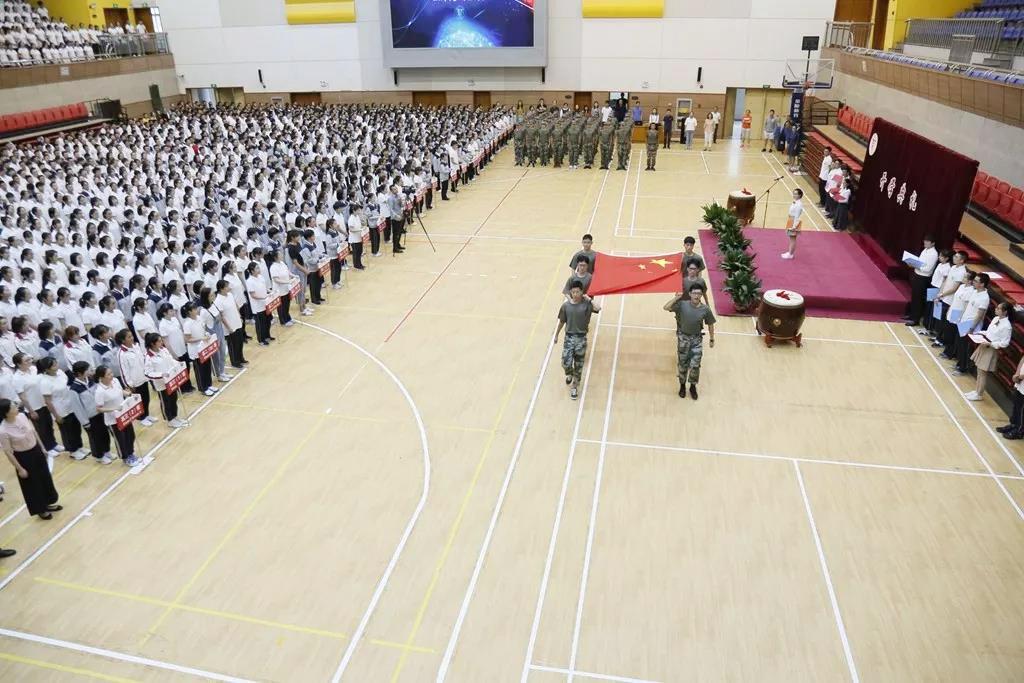 奉贤中学举行2019学年第一学期开学典礼