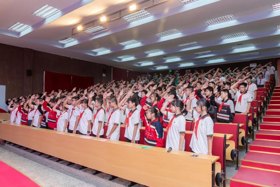 廊下中学举行2019学年第一学期开学典礼