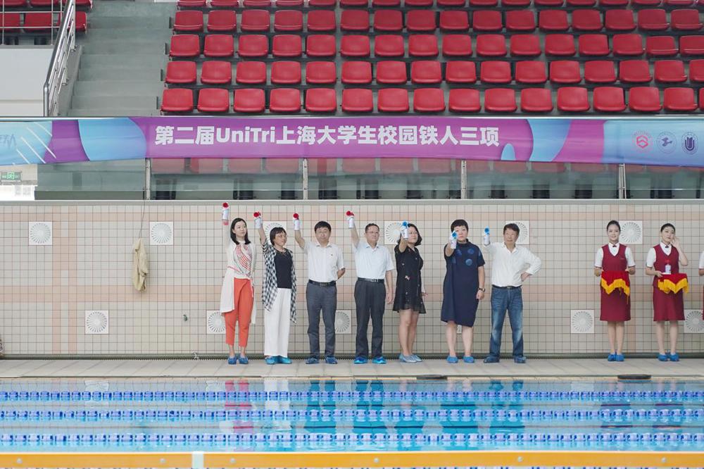"""首战告捷!""""第二届 UniTri 上海大学生校园铁人三项""""2019上海大学宝山校区站,圆满举行"""