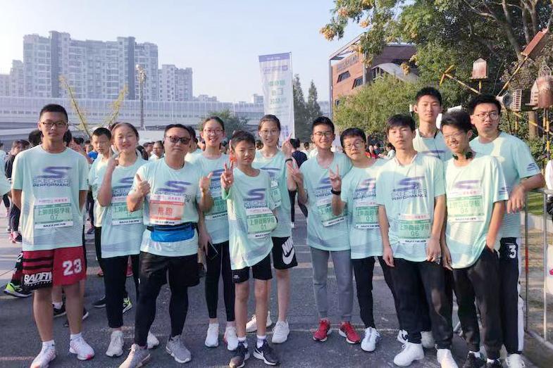 """尚阳师生""""六公里健身跑""""侧记"""