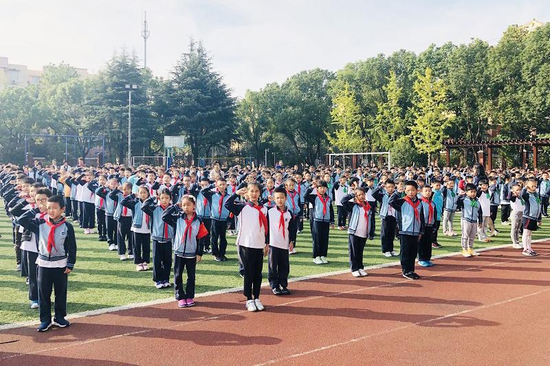 联建小学第二十一届少代会闭幕