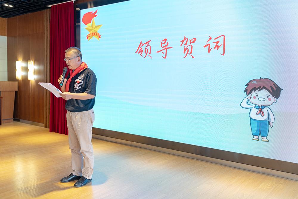 朱泾小学隆重举行第29次少代会