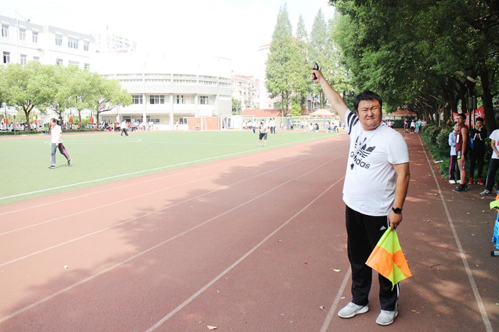 上海市洛川学校举行第十八届秋季运动会