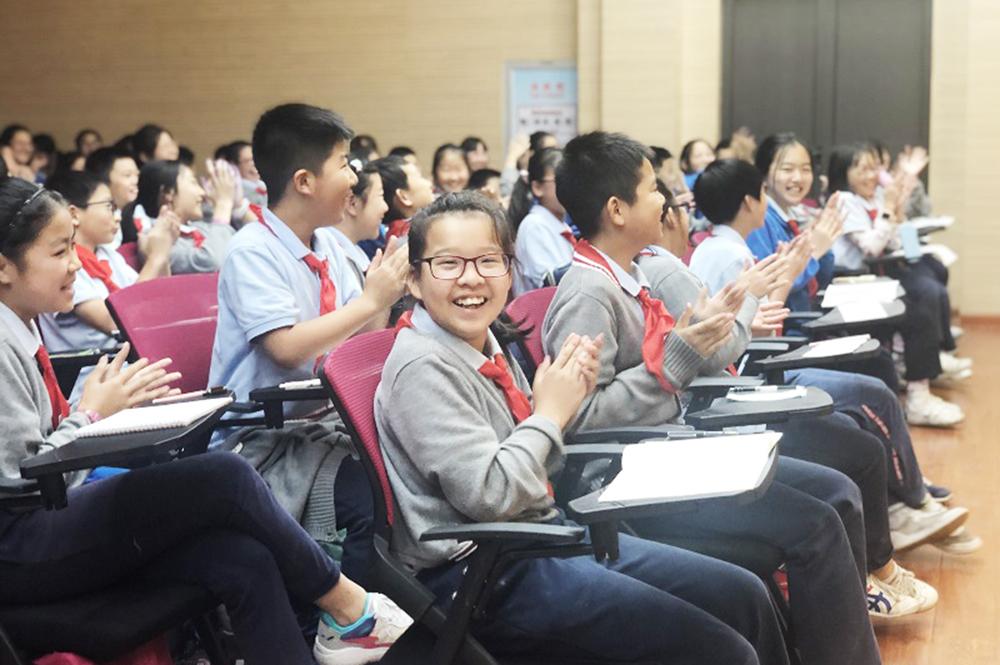 """上外尚阳学校开展""""亲师合作、家校共育""""生命教育课程"""