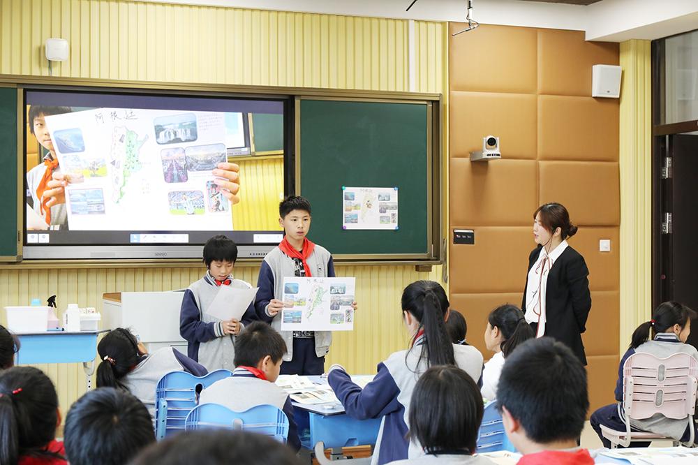 """金卫中学:""""名师""""课堂展风采 主题教研促成长"""