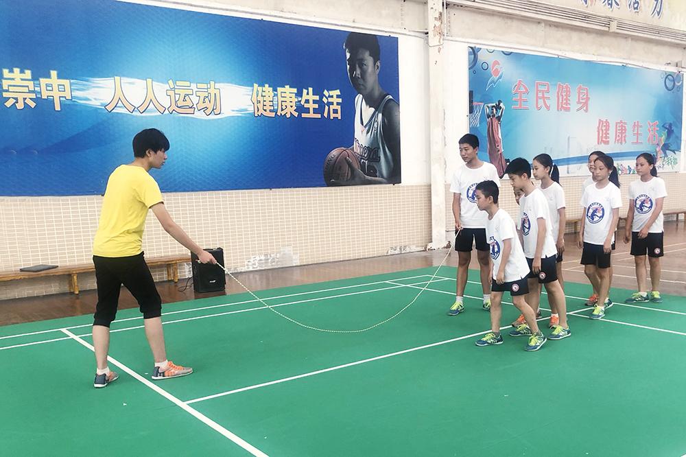 """备战学生运动会,""""上海小囡"""",加油!"""