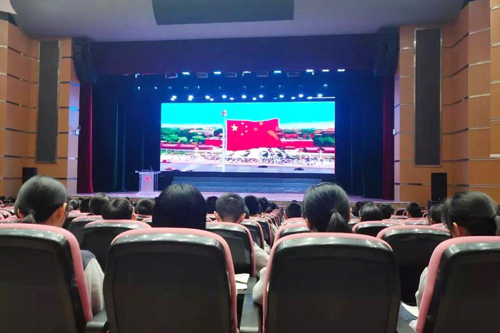 奉贤中学:实现中国梦 青春勇担当