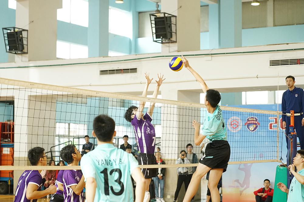 2019年上海市大学生排球联赛顺利闭幕