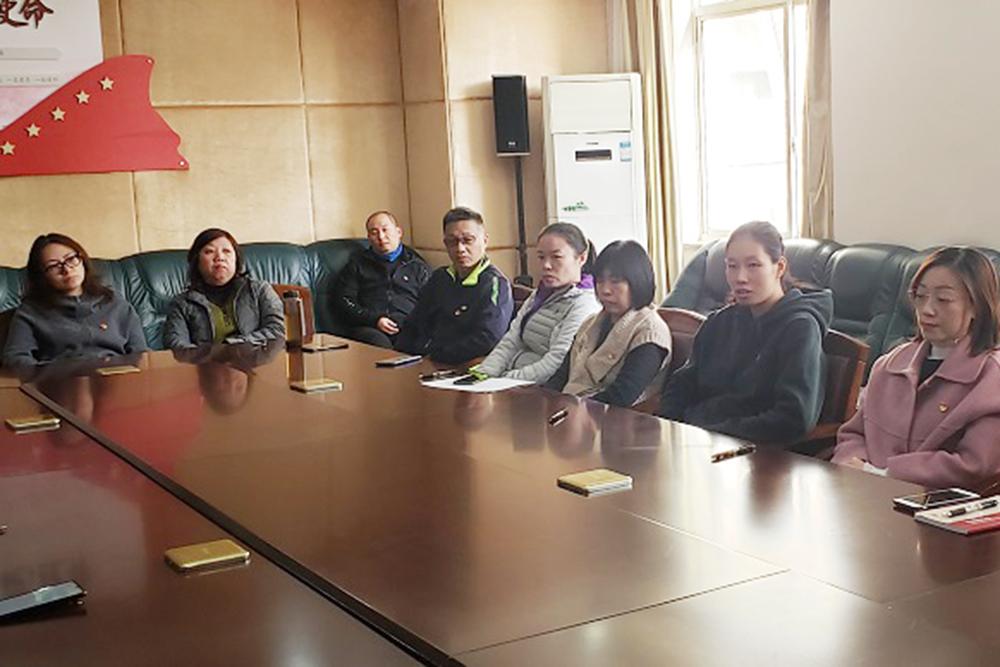 洛川学校召开接收预备党员大会