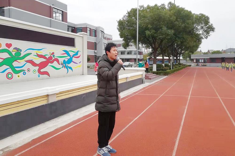 张堰小学举行防震减灾演练活动