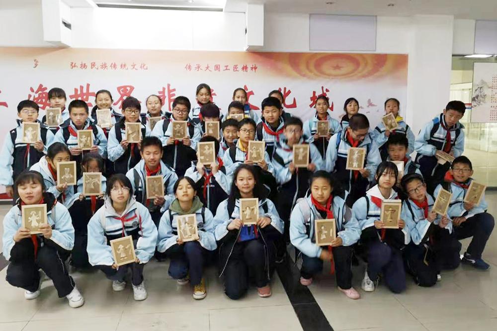 金卫中学七年级开展学生社会实践活动