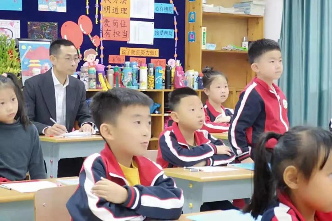 曹杨新村第六小学开展一年级教育教学融合督导活动