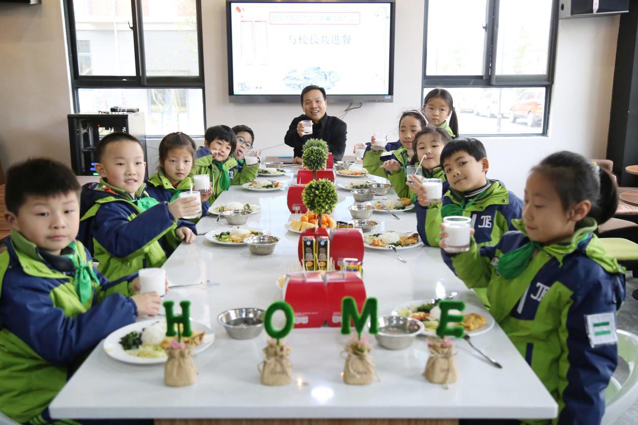 上海市中小学食育 | 松江区九亭第五小学:五彩食育助成长