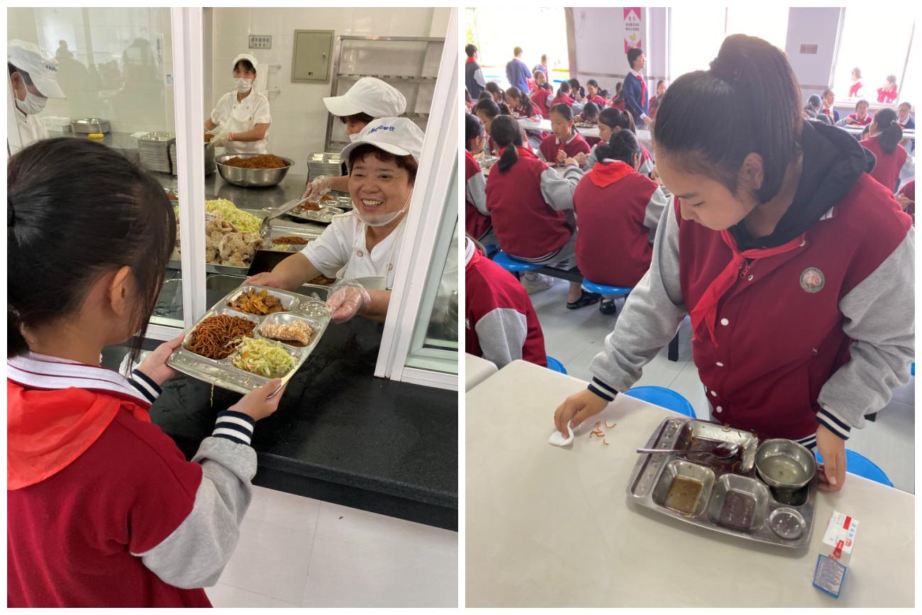 上海市中小学食育   宝山区宝钢新世纪学校:从礼仪课程迈向食物感恩
