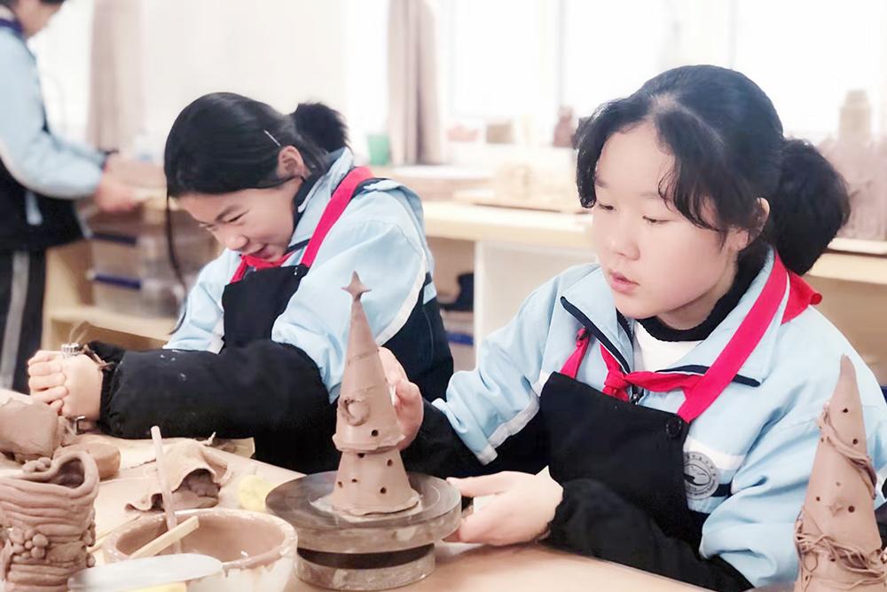 金卫中学:魅力劳技 精彩课堂