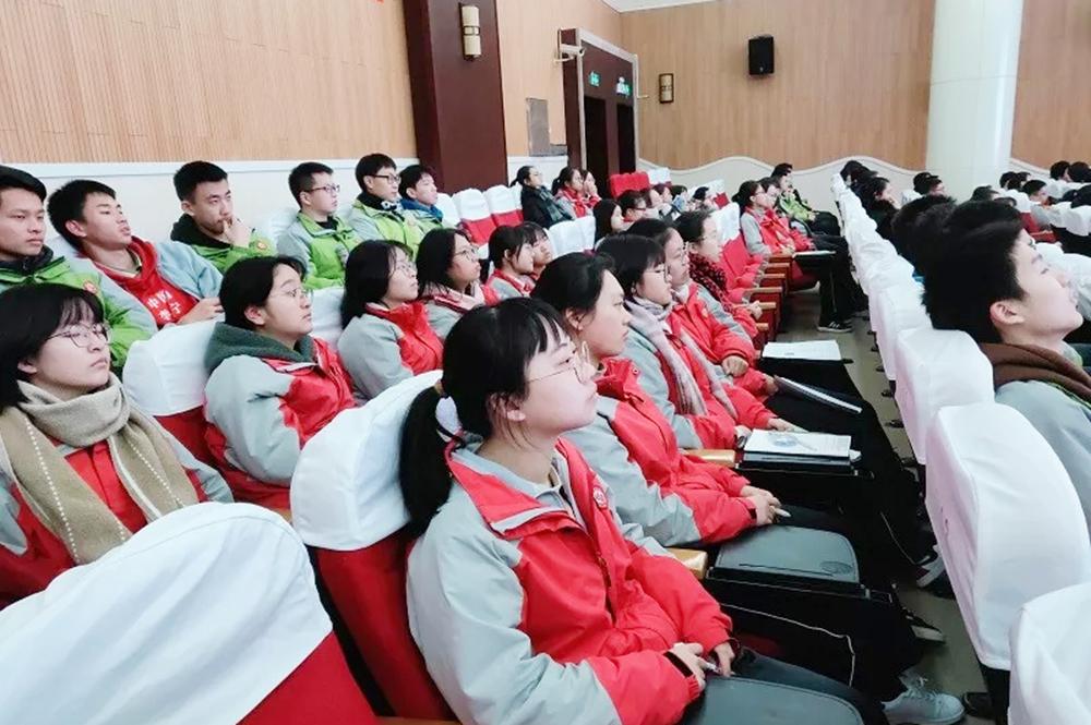 曙光中学召开2020届高三学生会