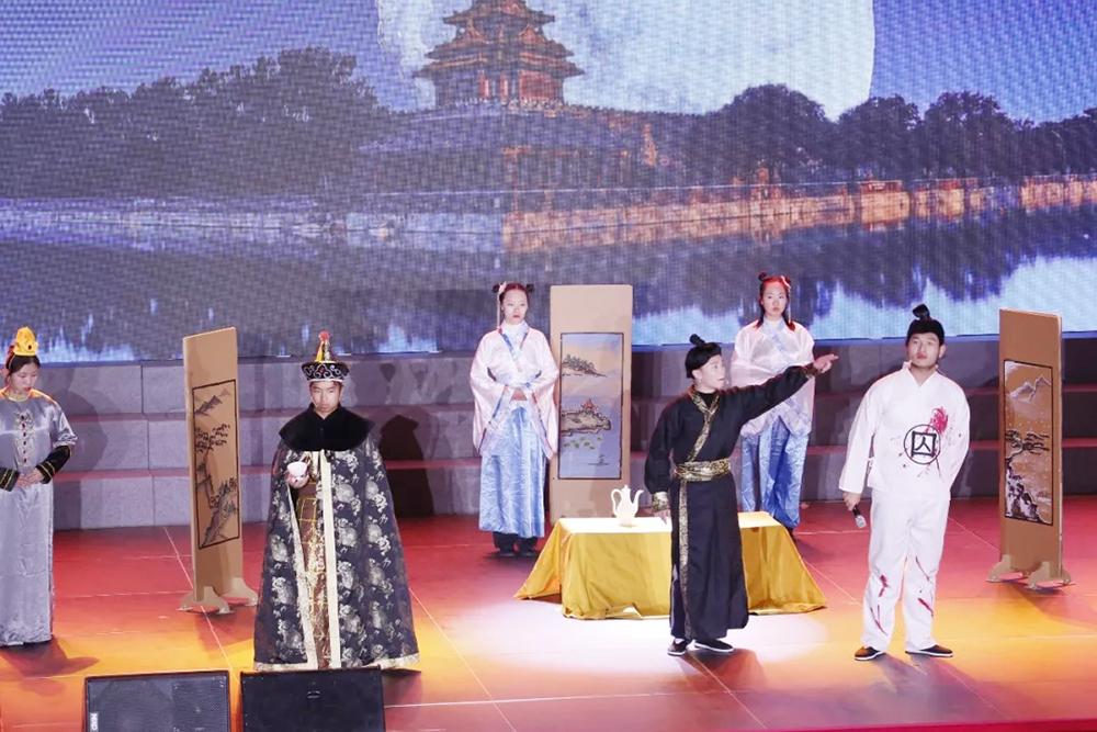 奉贤中学举办2019年传统文化节闭幕式暨迎新晚会