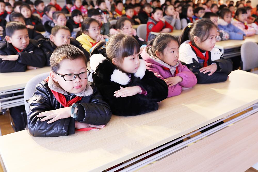 朱泾小学开展第15届读书节三年级、五年级特色活动