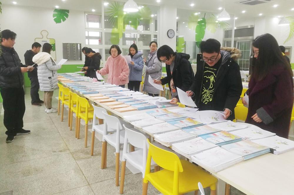 朱泾小学开展全校性备课、作业检查评比活动