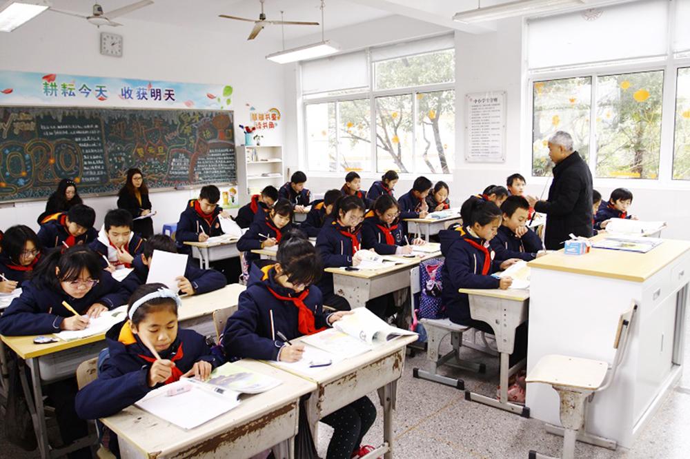洛川学校与戬浜学校开展联合教研活动