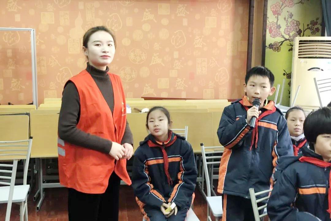 曹杨新村第六小学开展地铁安全进校园活动