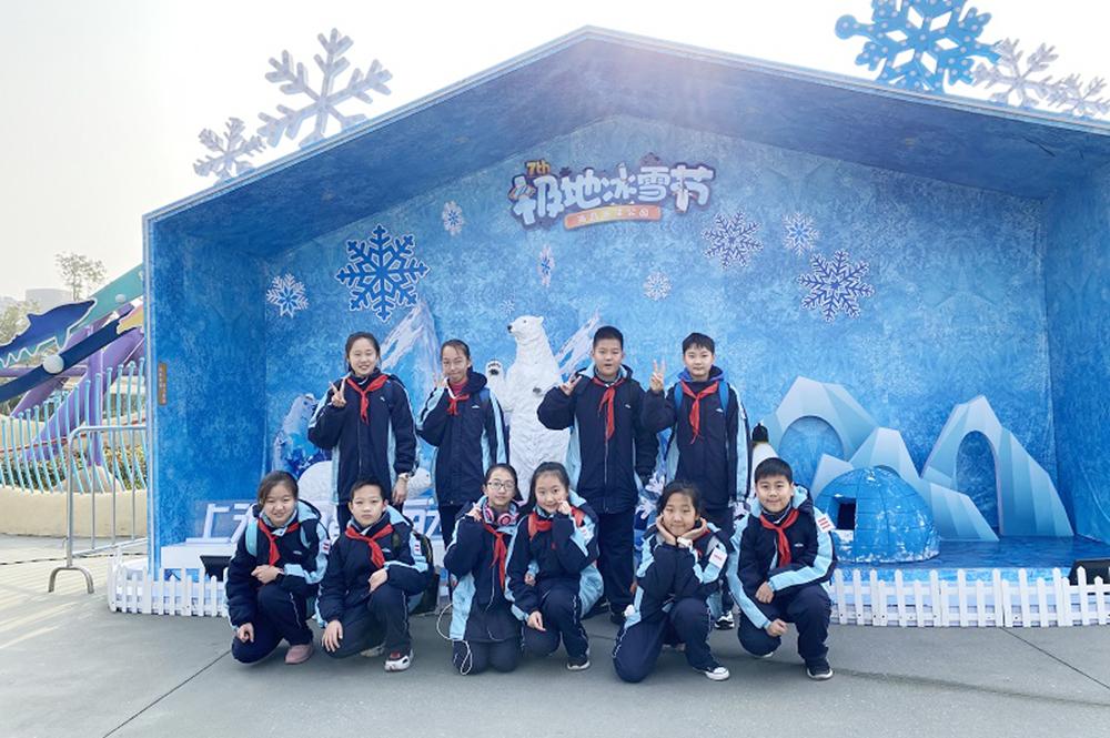 洛川学校组织优秀学生、干部开展冬令营活动