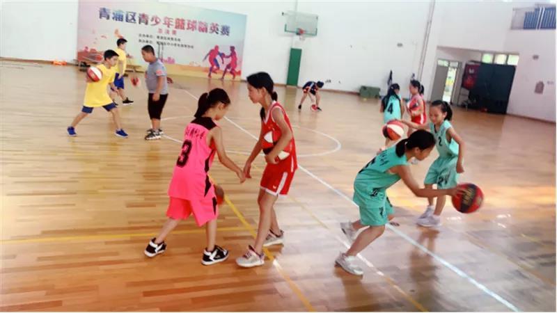 钱圩小学篮球夏令营开营啦