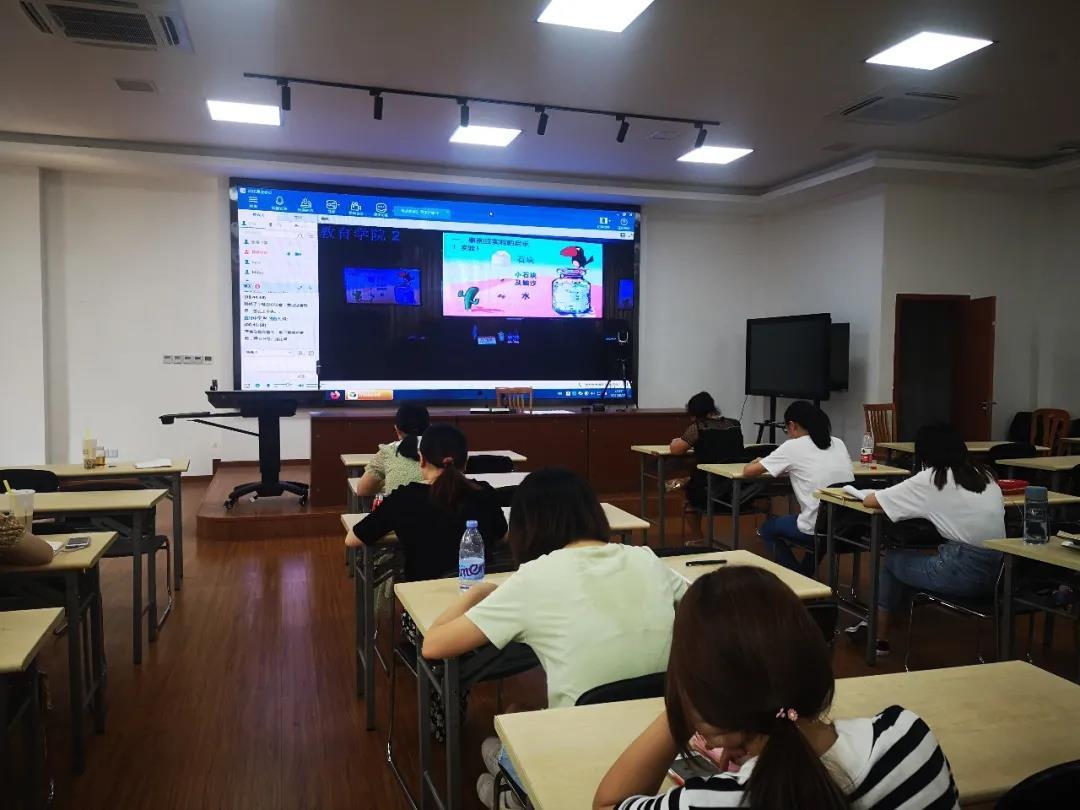 张堰小学开展暑期教研组长培训