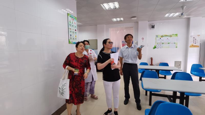 上外尚阳学校迎接2020年秋季开学准备工作检查