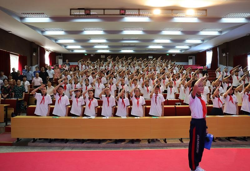 廊下中学举行2020学年第一学期开学典礼