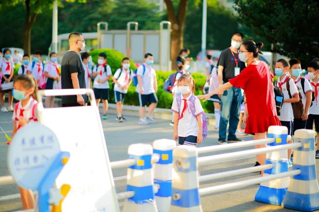 朱泾小学举行2020学年度第一学期开学典礼