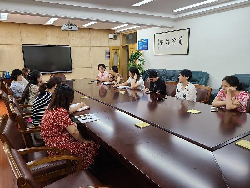 洛川学校召开中小学思政教师一体化工作动员会